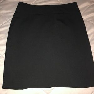 Limited Black Work Skirt